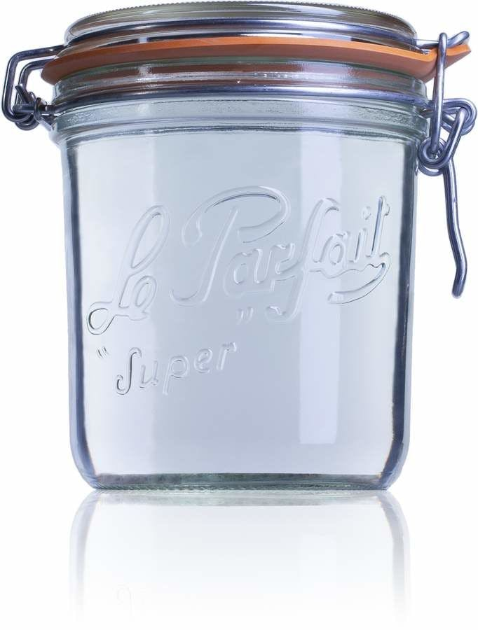 Frasco de vidro hermetico Terrine Le Parfait 750 ml 750ml BocaLPS 100mm Embalagens de vidro Boiões frascos de vidro y potes de cristal le parfait super terrines wiss