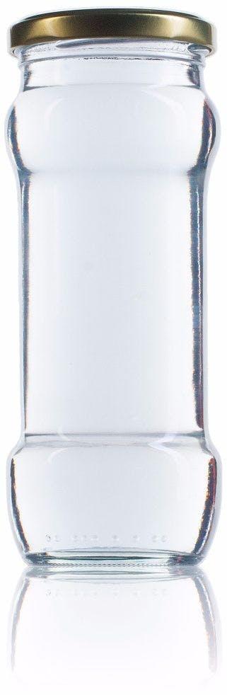 R 370 ml TO 063 Embalagens de vidro Boioes frascos e potes de vidro para alimentaçao