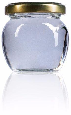 Orcio 106-106ml-TO-053-envases-de-vidrio-tarros-frascos-de-vidrio-y-botes-de-cristal-para-alimentación