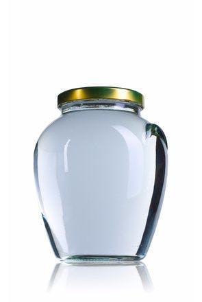 Vaso Orcio 1700 ml TO 110 Embalagens de vidro Boioes frascos e potes de vidro para alimentaçao