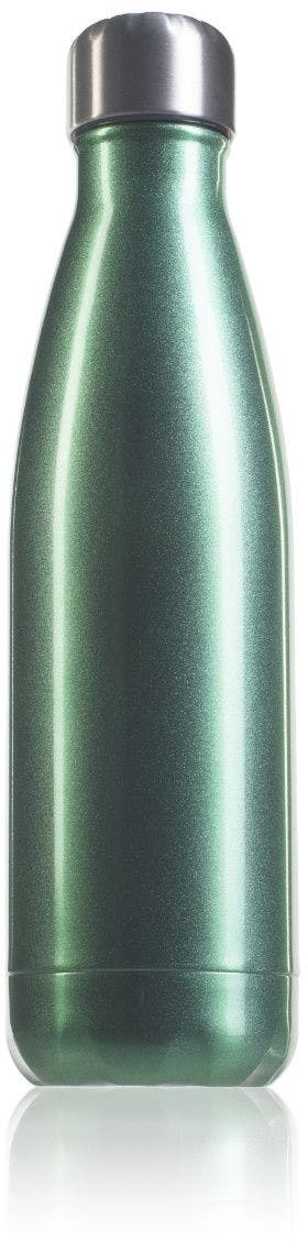 Botella térmica inox 500 ml verde