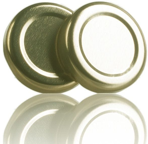 Lid TO 38 Golden Sterilisation without button  MetaIMGIn Tapas de cierre