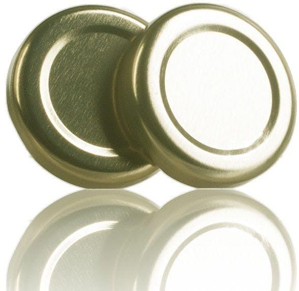Tapa TO 38 Dorado Esterilización sin boton -sistemas-de-cierre-tapas