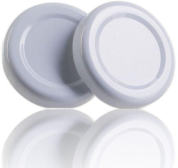 Couvercle TO 38 Blanc Sterilisation sans bouton  MetaIMGFr Tapas de cierre