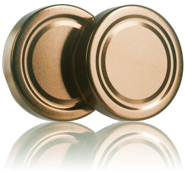 Lid TO 66 DWO bronze Pasteurization