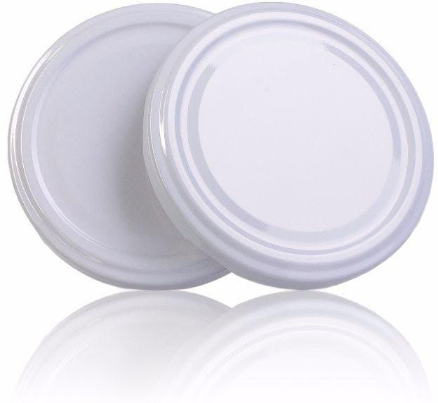 Lid TO 77 White Pasteurisation without button  MetaIMGIn Tapas de cierre