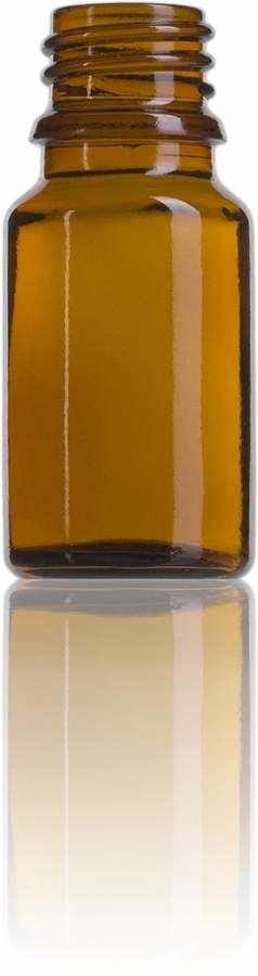 Topacio 10 ML DIN 18 envases para laboratorio y farmacia botellas frascos de vidrio cristal para laboratorio