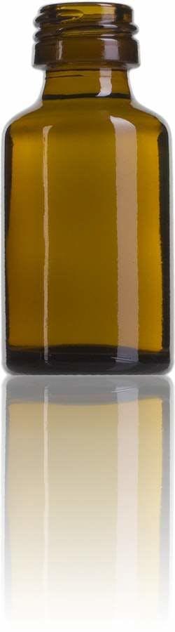 Topacio 10 ML PP28 Embalagens para laboratório e farmácia Garrafas frascos de vidro cristal para laboratório