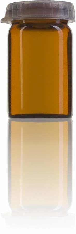 Topacio 10 ML TAPON CLIC  Embalagens para laboratório e farmácia Garrafas frascos de vidro cristal para laboratório