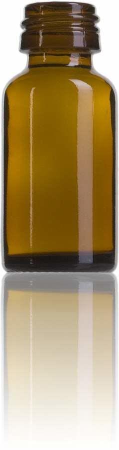 Topacio 15 ML PP28-envases-para-laboratorio-y-farmacia-botellas-frascos-de-vidrio-cristal-para-laboratorio