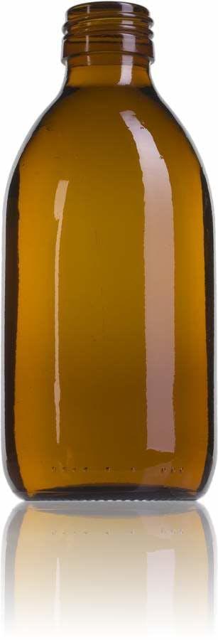 Topacio 250 ML PP28-envases-para-laboratorio-y-farmacia-botellas-frascos-de-vidrio-cristal-para-laboratorio