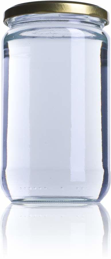 V 580 580ml TO 077 Embalagens de vidro Boioes frascos e potes de vidro para alimentaçao