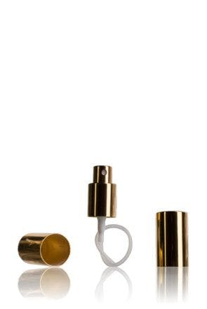 Golden Atomizer and cap 18/415