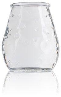 Vaso de cristal con burbujas 390 ml