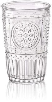 Bormioli Rocco Romantic transparent glass tumbler 300 ml