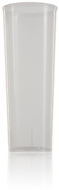 Vaso de tubo de plástico PP transparente 300 ml