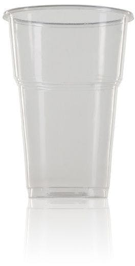Gobelet en plastique PP transparent 330 ml