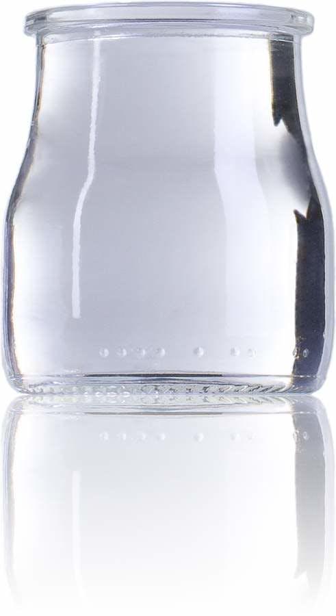 Yogurt STD 150 150ml SP T3668A Embalagens de vidro Boioes frascos e potes de vidro para alimentaçao