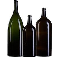Grandes bouteilles en verre