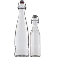 Glass bottles for water