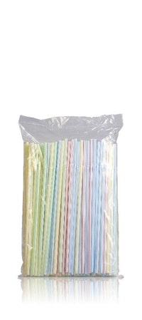 Pajitas de plástico para beber