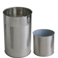 Metal tins for canning