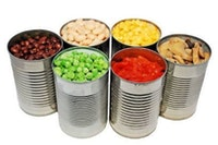 Cans for canned vegetables
